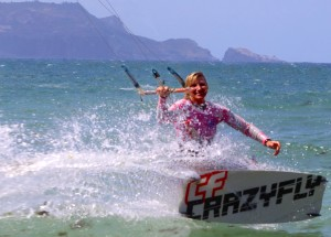 Maui Kiteboarding Instructor Level 2 Diana Pond Klase
