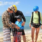 Group Maui Kiteboarding Lessons