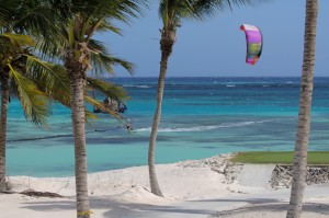 Kiteboarding with North