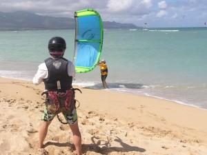 Beginner Maui Kitboarding Lesson