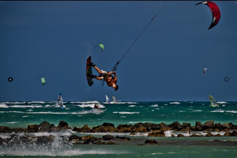 kiteboarding tricks