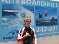 IKO Certified Kiteboartding Instructor Maui Hawaii