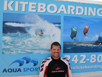 Maui IKO Cerified Kiteboarding Instructor