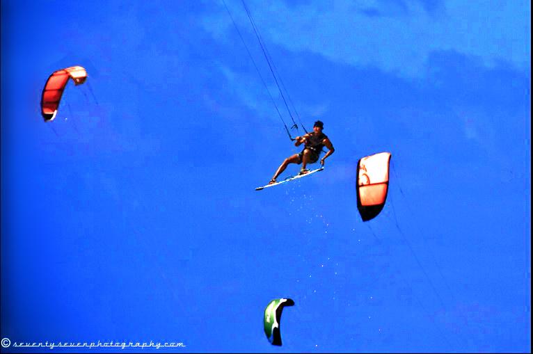 big jumps kiteboarding
