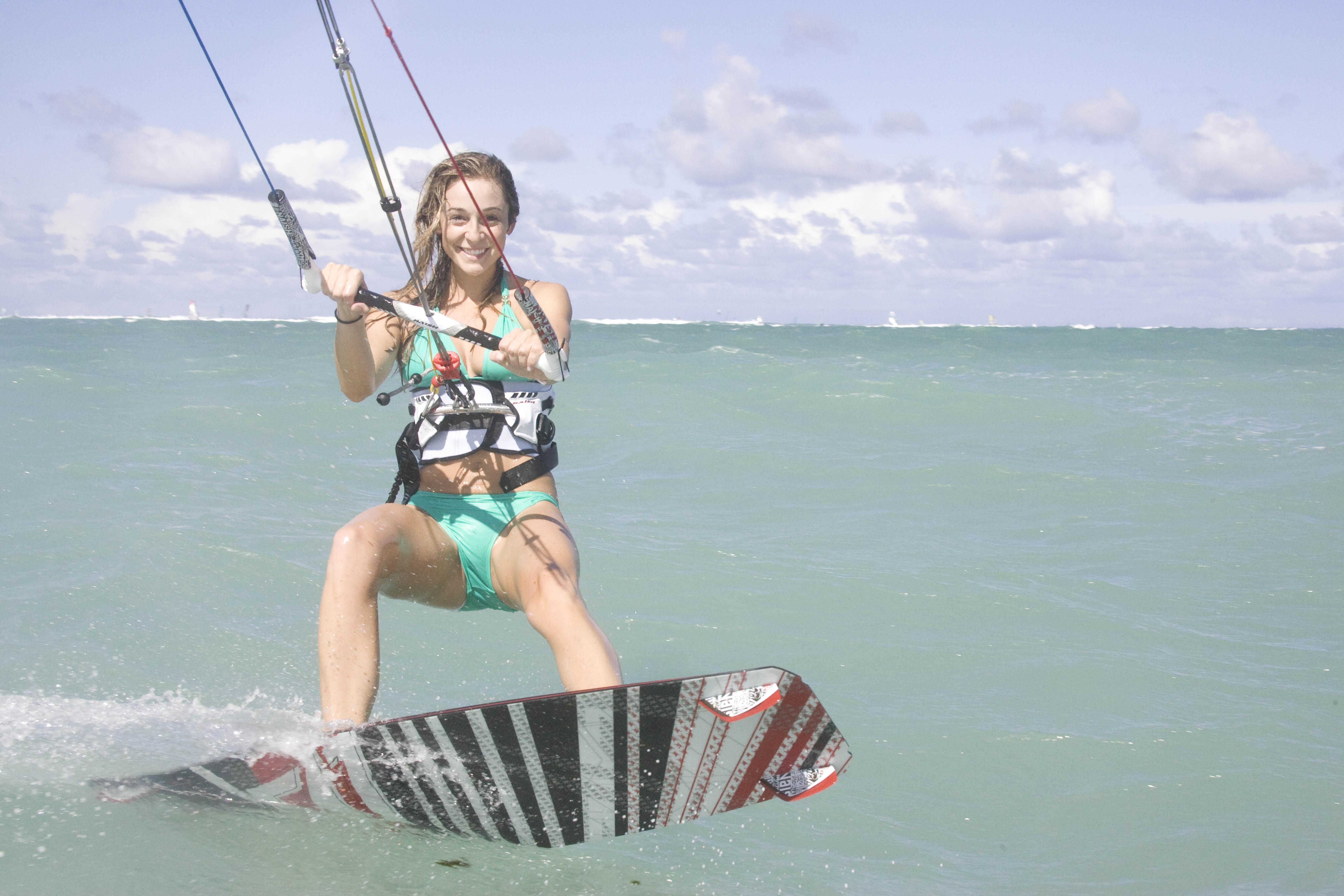 Aqua Sports Maui Kiteboarding Lesson