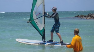 Windsurfing Lesson  at Kanaha Beach Park, Maui