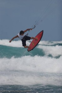 Lou Wainman Kiteboarding Strapless Air