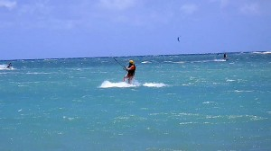 Maui Kiteboarding Lessons Beginner Kiteboarder