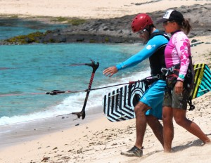 Aqua Sports Maui Fast Track Beginner Kiteboarding Lesson
