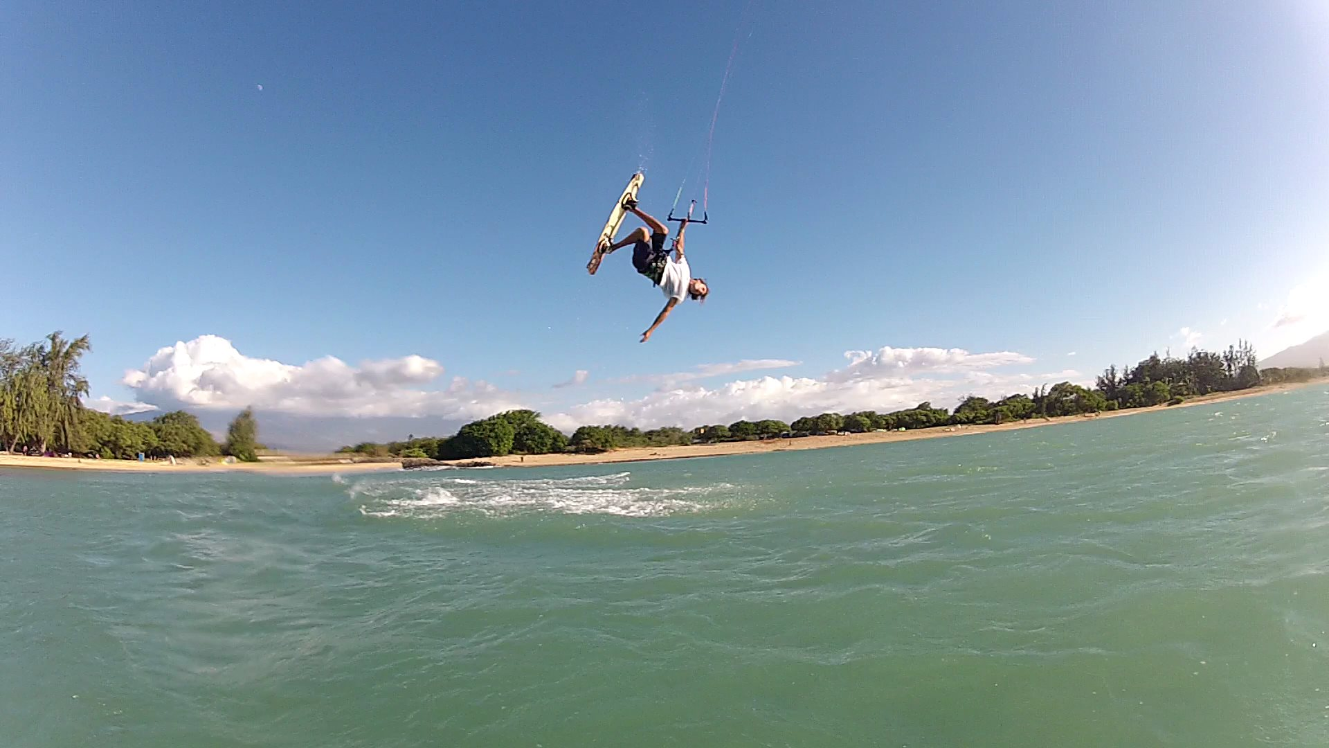 Corey Gallagher, Maui Kiteboarding