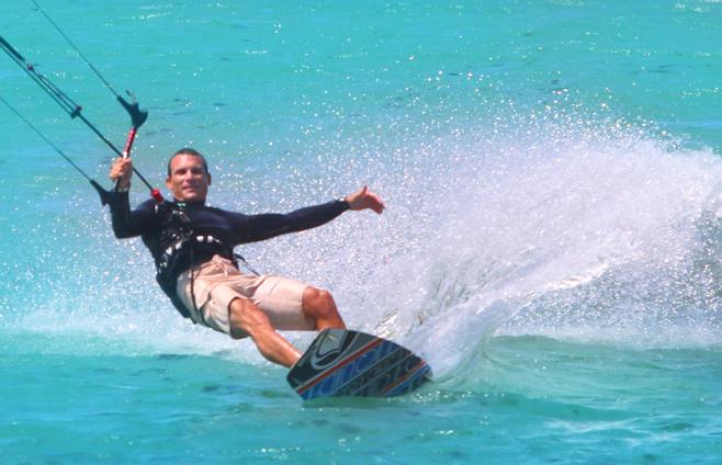 Aqua Sports Maui Kiteboarding Instrructor Mati