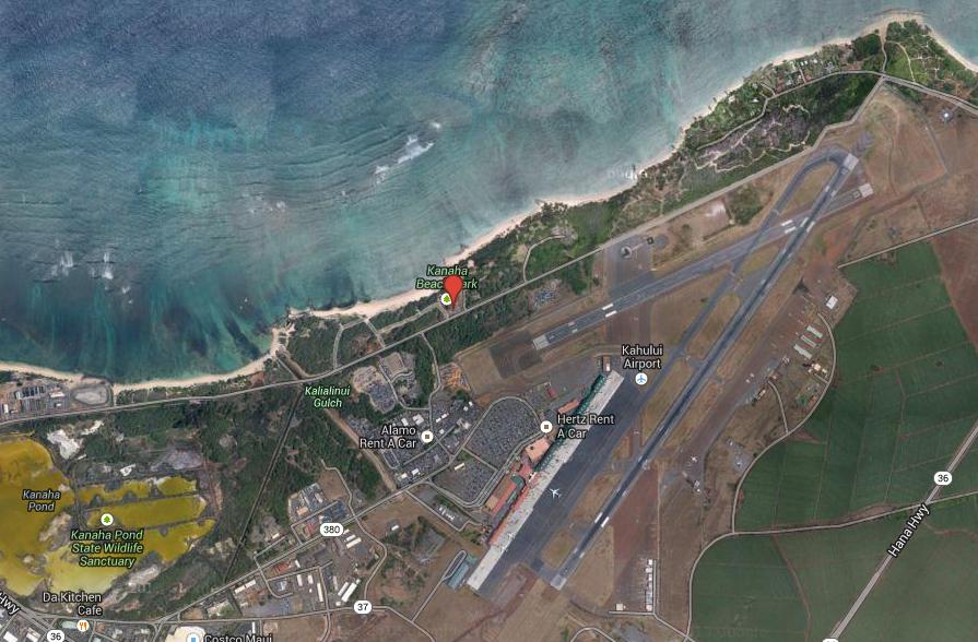 Kite Beach , Maui, Aqua Beach , Aqua Sports Maui Meeting Location