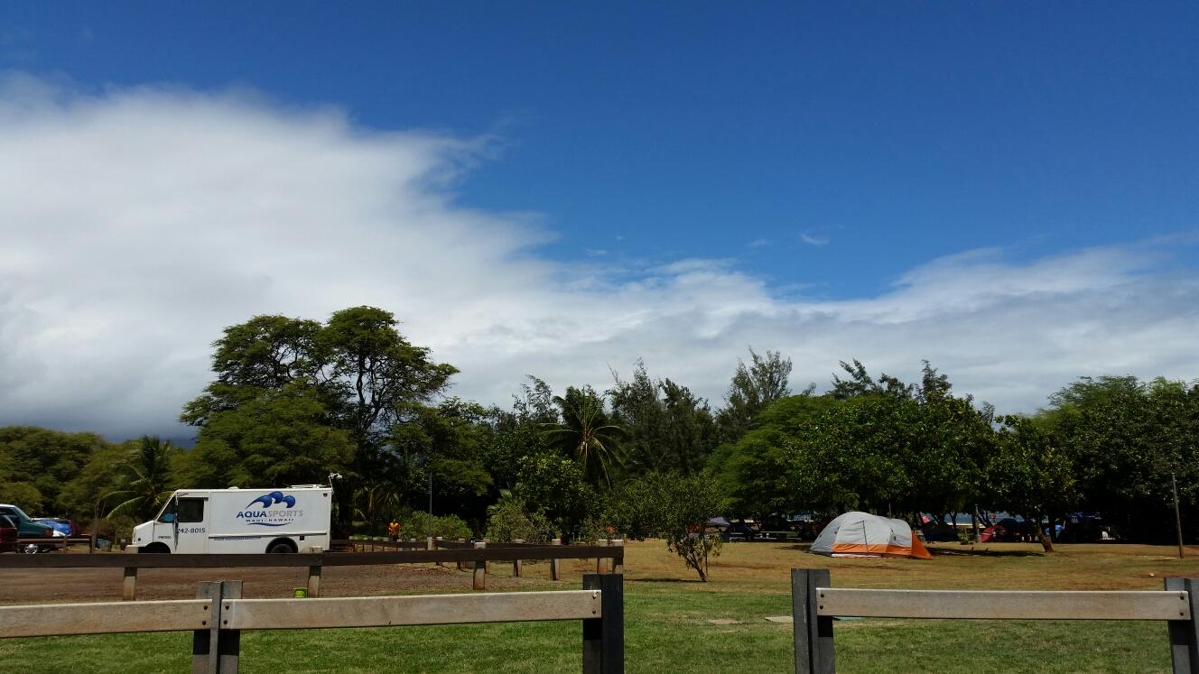Kite Beach, Maui Aqua Sports Maui Meeting Location , our van