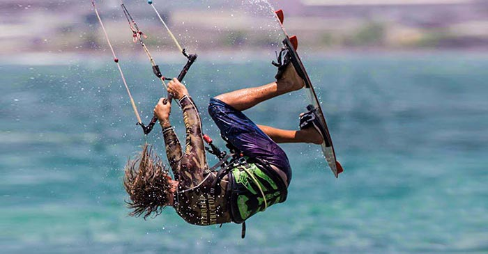 Corey Gallagher Maui Kiteboarding