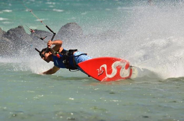 Lou Wainman Aqua Sports Maui Kiteboarding School Instructor