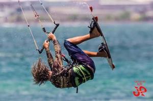 Aqua Sports Maui Kite boarding Instructor Corey Gallager