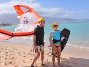 Maui Kiteboarding Lesson