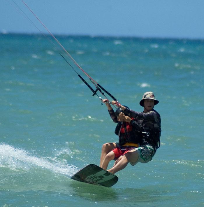 Aqua Sports Maui Kids Kiteboarding Lesson