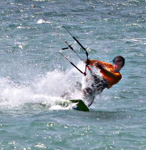 Aqua Sports Maui Kiteboarding Lessons Instructor, Matt Cooper