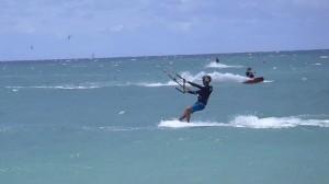 Maui Kiteboarding Lesson Riding