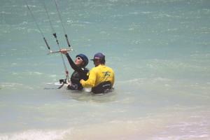 maui kite school beginner class