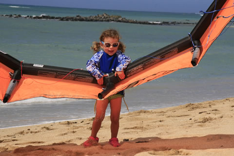 Aqua Sports Maui Kids Kiteboarding Lesson