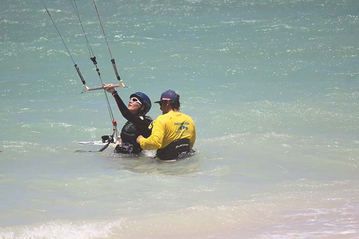 Custom Maui Kiteboarding Lesson