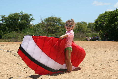 Kids Kiteboarding is Fun!