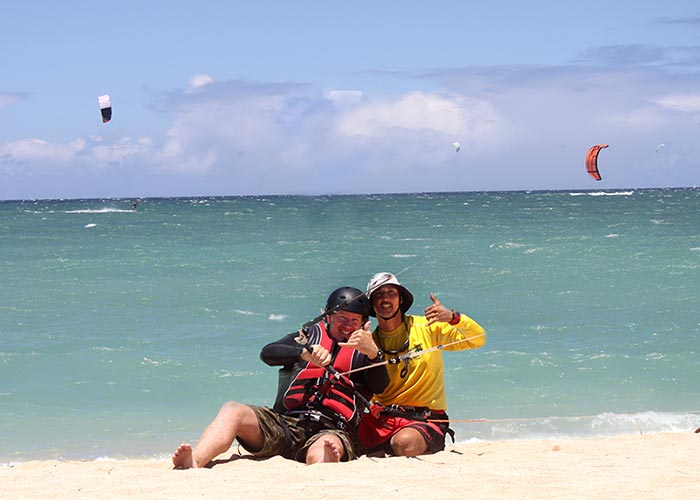 Kiteboarding Custom Lessons Hourly