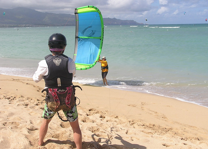 Aqua Sports Maui Kiteboarding Lesson