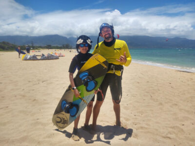 Nate Maui Kiteboarding instructor